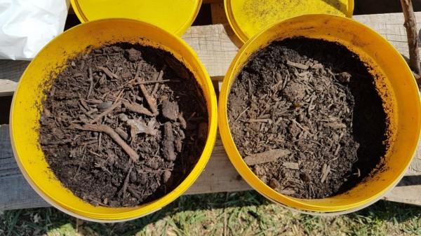 2 komposty - porovnanie